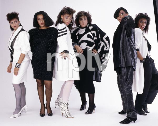 Klymaxx (Bernadette Cooper, Lorena Shelby, Cheryl Cooley, Lynn Malsby, Robbin Grider) 1986© 1986 Bobby Holland - Image 24331_0134