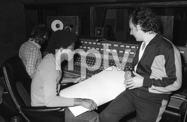 Jermaine Jackson at Motown Recording Studios in Los Angeles, CAcirca 1980s© 1980 Bobby Holland - Image 24331_0204