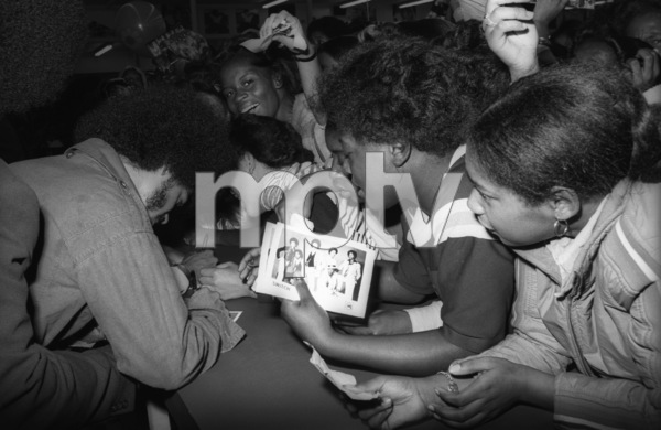 """""""Switch"""" at Freeway Records in Los Angeles, CA(Tommy DeBarge)circa 1979© 1979 Bobby Holland - Image 24331_0232"""