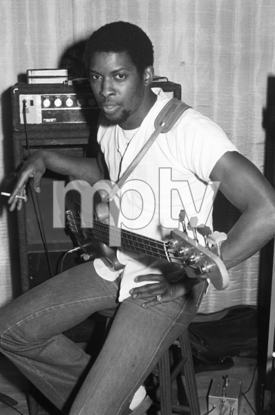 Bobby Watson at Allen Zentz Recording Studios, right at the beginning of laying down tracks for Michael Jackson