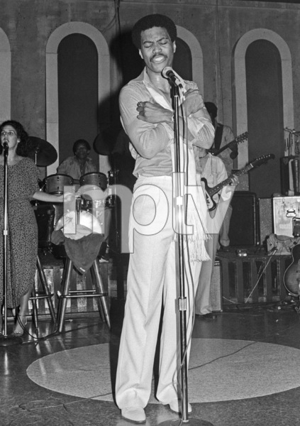 Cuba Gooding Sr. performing live at the Total Experience Nightclub circa 1970s © 1978 Bobby Holland - Image 24331_0273