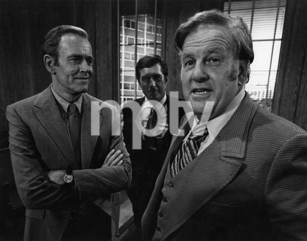 """""""The Smith Family"""" (Episode: Day in the Court)Henry Fonda, Alex Dreier1971Photo by Wynn Hammer - Image 24344_0014"""