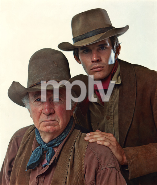 """The Guns of Will Sonnett""Walter Brennan, Dack Rambo circa 1967© 1978 Mario Casilli - Image 24345_0001"