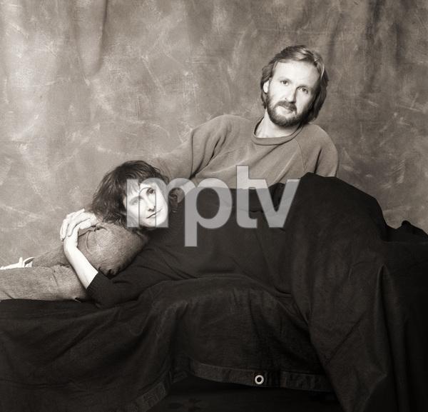 James Cameron and wife Gale Anne Hurdcirca 1985© 1985 Dana Gluckstein - Image 24349_0038