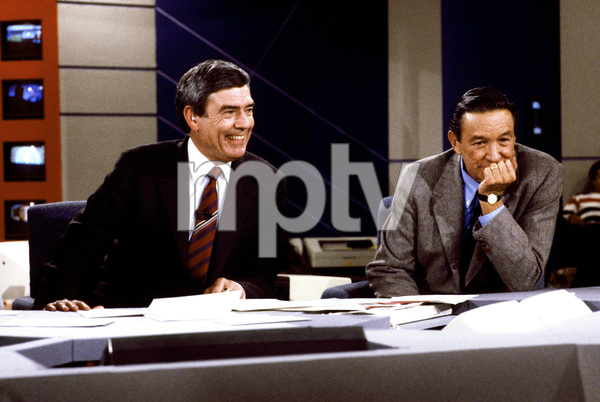 """60 Minutes""Dan Rather, Mike Wallacecirca 1982© 1982 Patrick D. Pagnano - Image 24351_0028"