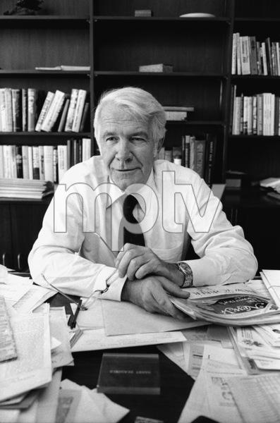 """60 Minutes""Harry Reasonercirca 1981© 1981 Patrick D. Pagnano - Image 24351_0036"