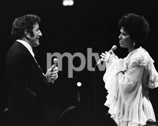 Tony Bennett performing with Lena Horne at the Westbury Music Fair in New York1974© 1978 Barry Kramer - Image 24354_0041