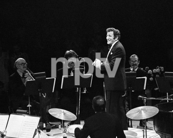 Tony Bennett performing at the Westbury Music Fair in New York1974© 1978 Barry Kramer - Image 24354_0042