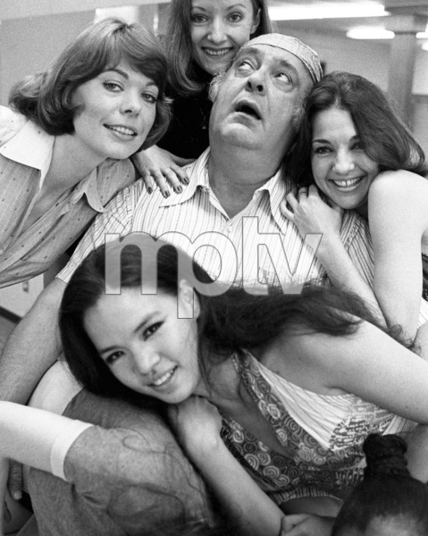 """Zero Mostel during rehearsals for """"A Funny Thing Happened on the way to the Forum""""1973© 1978 Barry Kramer - Image 24354_0044"""