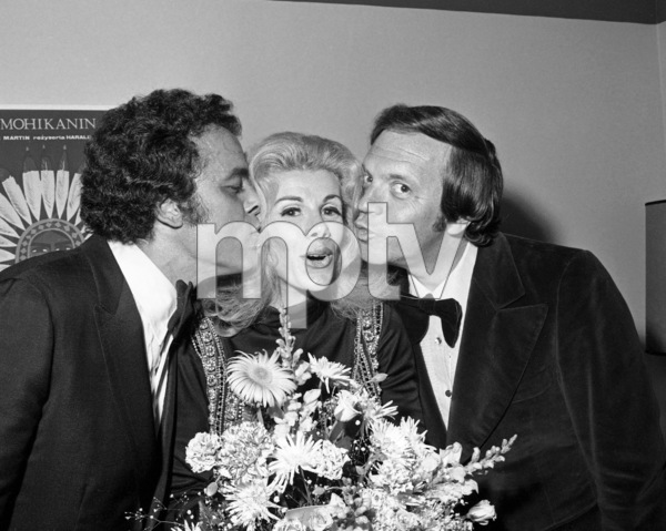 Joan Rivers with Julius La Rosa and Morty Guntycirca 1970s© 1978 Barry Kramer - Image 24354_0060