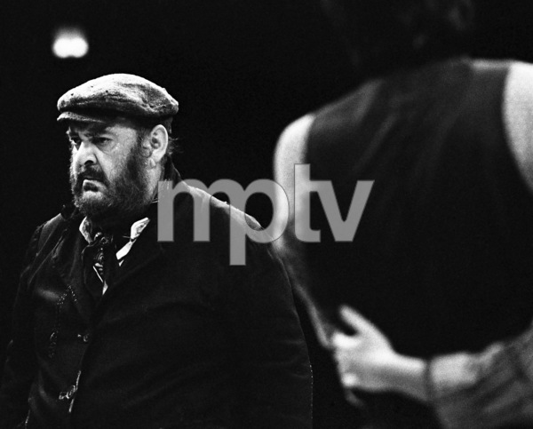 """Zero Mostel performing in """"Fiddler on the Roof"""" at Westbury Music Fair in New York 1971© 1978 Barry Kramer - Image 24354_0130"""