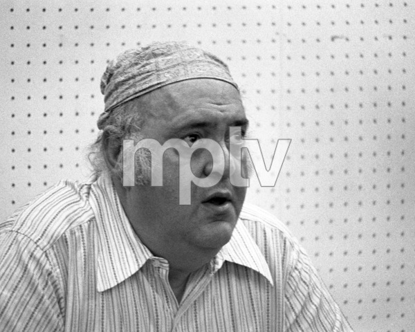 "Zero Mostel during rehearsals for ""A Funny Thing Happened on the way to the Forum"" 1973 © 1978 Barry Kramer - Image 24354_0163"