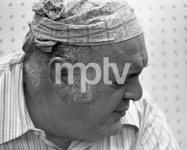 """Zero Mostel during rehearsals for """"A Funny Thing Happened on the way to the Forum"""" 1973 © 1978 Barry Kramer - Image 24354_0164"""