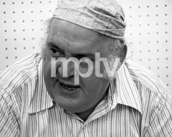 "Zero Mostel during rehearsals for ""A Funny Thing Happened on the way to the Forum"" 1973 © 1978 Barry Kramer - Image 24354_0166"
