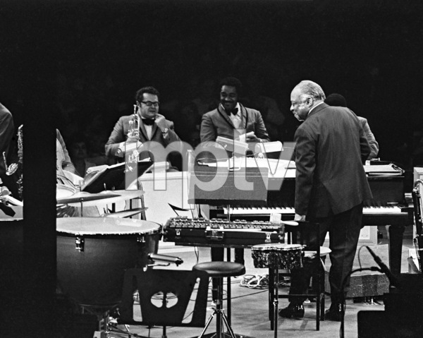 Count Basie performing at Westbury Music Fair in New York1971© 1978 Barry Kramer - Image 24354_0269