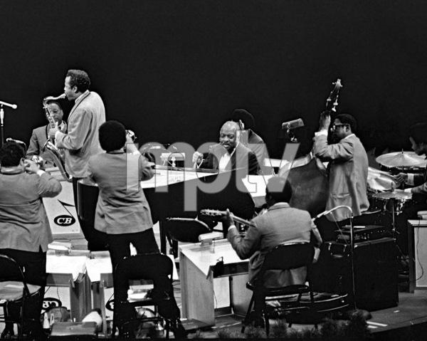Count Basie performing at Westbury Music Fair in New York1971© 1978 Barry Kramer - Image 24354_0270