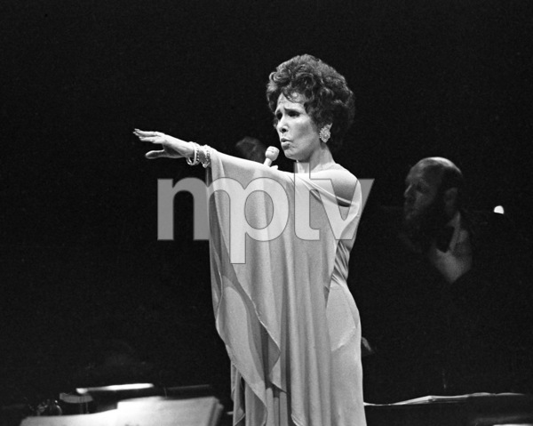 Lena Horne performing at Westbury Music Fair in New York1974© 1978 Barry Kramer - Image 24354_0271