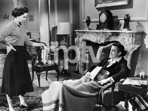 "Jean Peters and Richard Todd in ""A Man Called Peter""1955 20th Century-Fox** I.V. - Image 24358_0003"