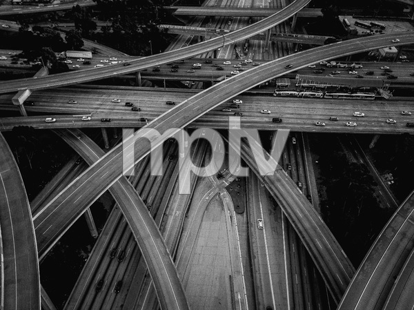 110 and 105 Freeways, Los Angeles, California2017© 2017 Jason Mageau - Image 24361_0016