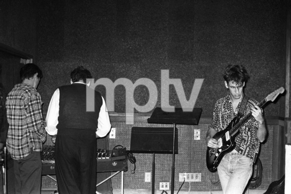 Red Hot Chili Peppers (Hillel Slovak) in a Hollywood studio1984© 1984 Ivy Ney - Image 24372_0008