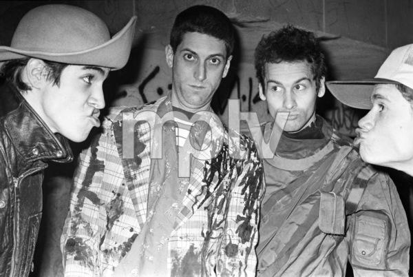 Red Hot Chili Peppers (Anthony Kiedis, Flea, Cliff Martinez, Jack Sherman)circa 1985© 1985 Ivy Ney - Image 24372_0025