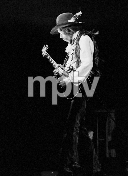 Jimi Hendrix playing Fillmore East in New York City May 10, 1968© 1978 Steve Banks - Image 24377_0023