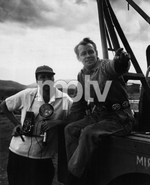 """Shane""Photographer Mel Traxel, Alan Ladd1953** I.V. - Image 24383_0123"