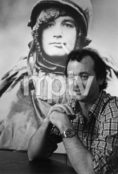 "Bill Murray during the making of ""Stripes""circa 1981** I.V. - Image 24383_0328"