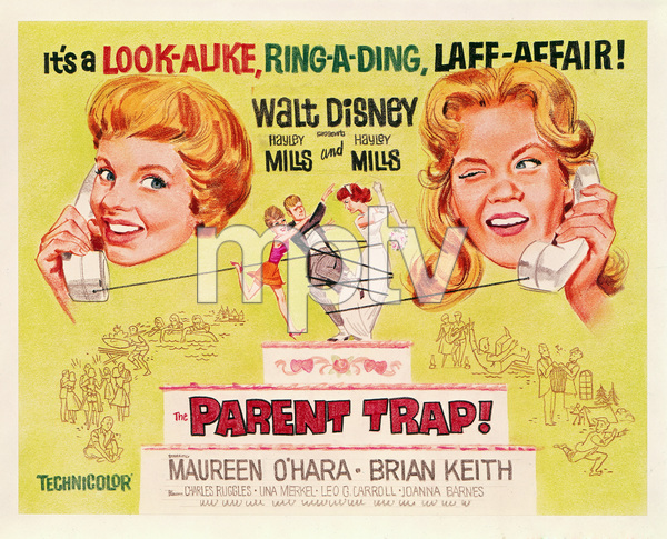 """The Parent Trap"" (poster)1961** I.V. - Image 24383_0342"