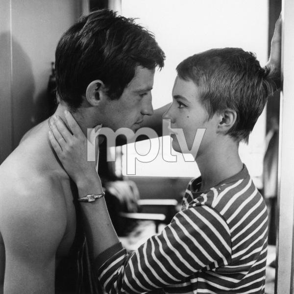 """""""Breathless""""Jean-Paul Belmondo, Jean Seberg1960** I.V. - Image 24383_0904"""