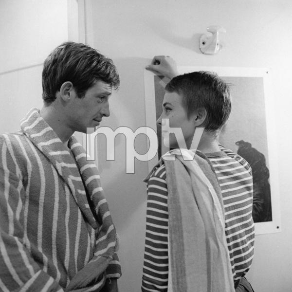"""""""Breathless""""Jean-Paul Belmondo, Jean Seberg1960** I.V. - Image 24383_0905"""
