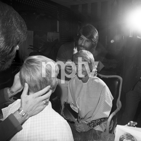 Jon Peters and Florence Henderson 1973** B.D.M. - Image 24384_0068