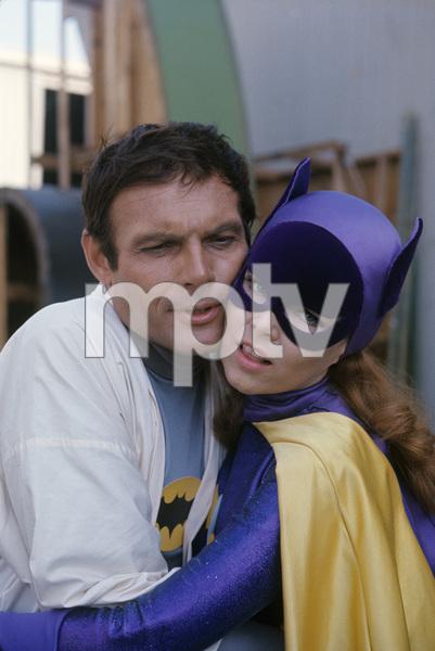 """Batman"" Adam West, Yvonne Craig 1967 © 1978 Gunther** J.C.C. - Image 24385_0013"
