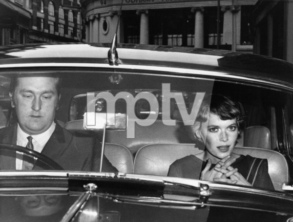 """Mia Farrow in London (Actress Mia Farrow shouted and swore and clawed at a policeman during a 4 A.M. incident at the Cavendish Hotel in the West End. Inspector John Perrett said of Miss Farrow and model Donyale Luna: """"I had the impression that they had both been drinking heavily. They were very confused."""" Their language, he said, was obscene)1968** J.C.C. - Image 24385_0073"""