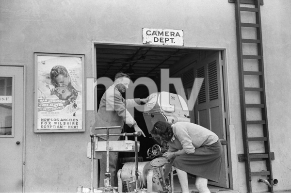 Messenger Vee Carson at MGM Studios1943© 1978 Ruth Orkin - Image 24388_0065