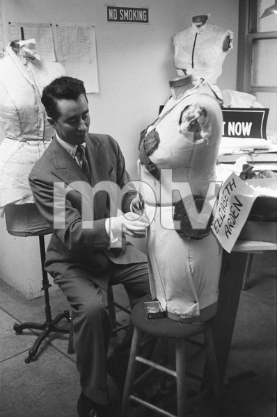 Charles James adjusting a design1949© 1978 Ruth Orkin - Image 24388_0802