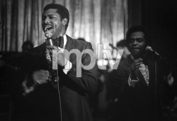 Teddy Pendergrass of Harold Melvin & the Blue Notescirca 1970s© 1978 Lou Jones - Image 24389_0036