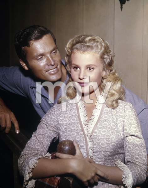 """Ty Hardin and Pamela Austin in """"Bronco"""" (Episode: Ride the Whirlwind)1962 ** B.D.M. - Image 2446_0004"""