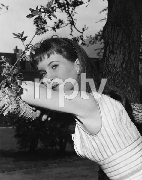 "Julie Harris during the filming of ""East of Eden""1955 Warner BrothersPhoto by Bert Six - Image 2453_0002"