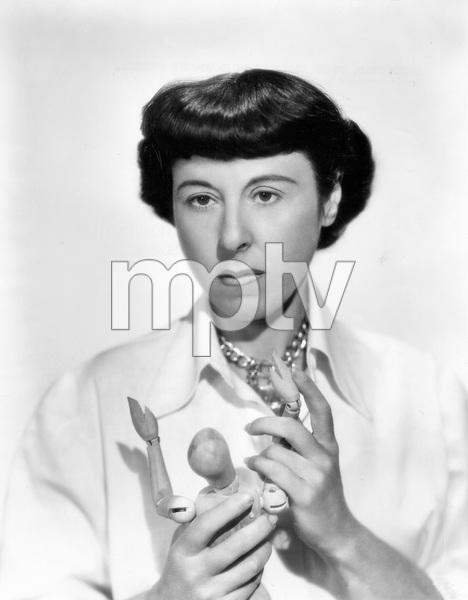 Costume Designer Edith Head, PARAMOUNT, 1949, Photo by Bud Fraker, I.V. - Image 2466_0048