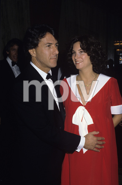 Dustin Hoffman with his wife Lisa Gottsegen1983© 1983 Gary Lewis - Image 2483_0154
