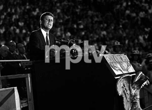 John F. Kennedy at the 1960 National Democratic Convention © 1978 Bud Gray - Image 2554_0011