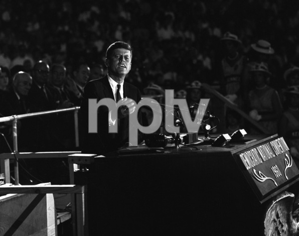 John F. Kennedy at the 1960 National Democratic Convention © 1978 Bud Gray - Image 2554_0013