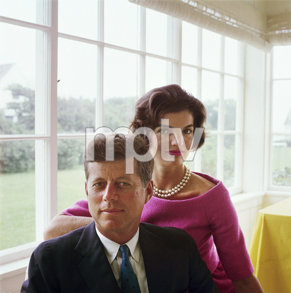 Jacqueline and John F. Kennedy at Hyannis Port1959© 2000 Mark Shaw - Image 2554_0086