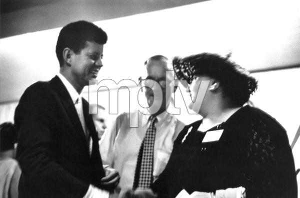 John F. Kennedy in Wheeling, West Virginia1959 © 2000 Mark Shaw - Image 2554_0099