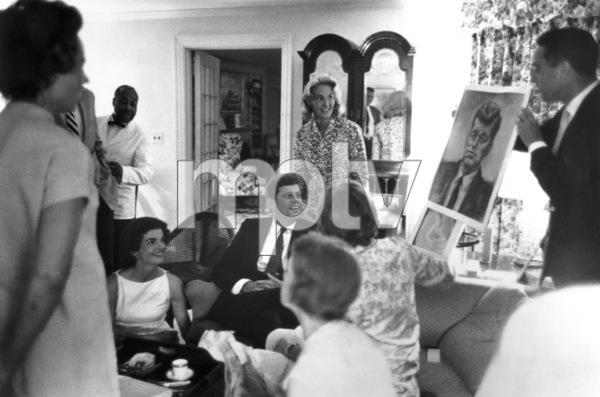 John F. Kennedy with Jacqueline Kennedycirca 1959 © 2000 Mark Shaw - Image 2554_0108