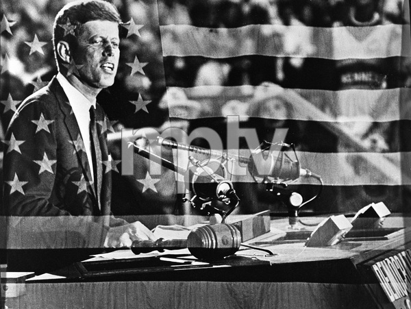 John F. Kennedy at the Democratic National Convention1960 © 1978 Bud Gray - Image 2554_0171