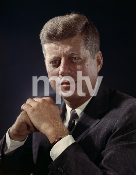 John F. Kennedy at the Ambassador Hotel in Los Angeles 1960 © 1978 Dave Iwerks - Image 2554_0173