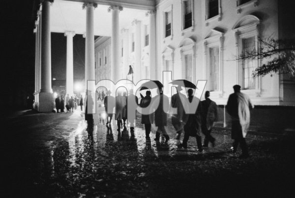 The White House in November of 1963 shortly after President John F. Kennedy had been assassinated© 2012 Mark Shaw - Image 2554_0192