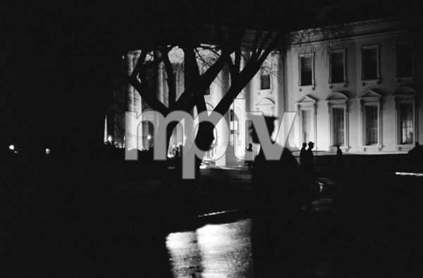 The White House in November of 1963 shortly after President John F. Kennedy had been assassinated© 2012 Mark Shaw - Image 2554_0194